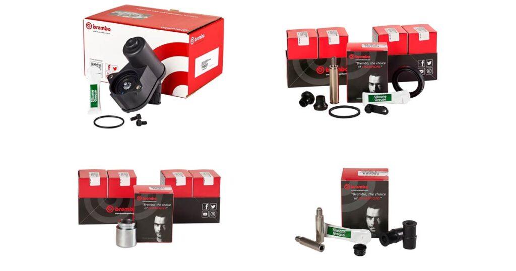 Новые ремонтные комплекты Brembo для тормозных суппортов