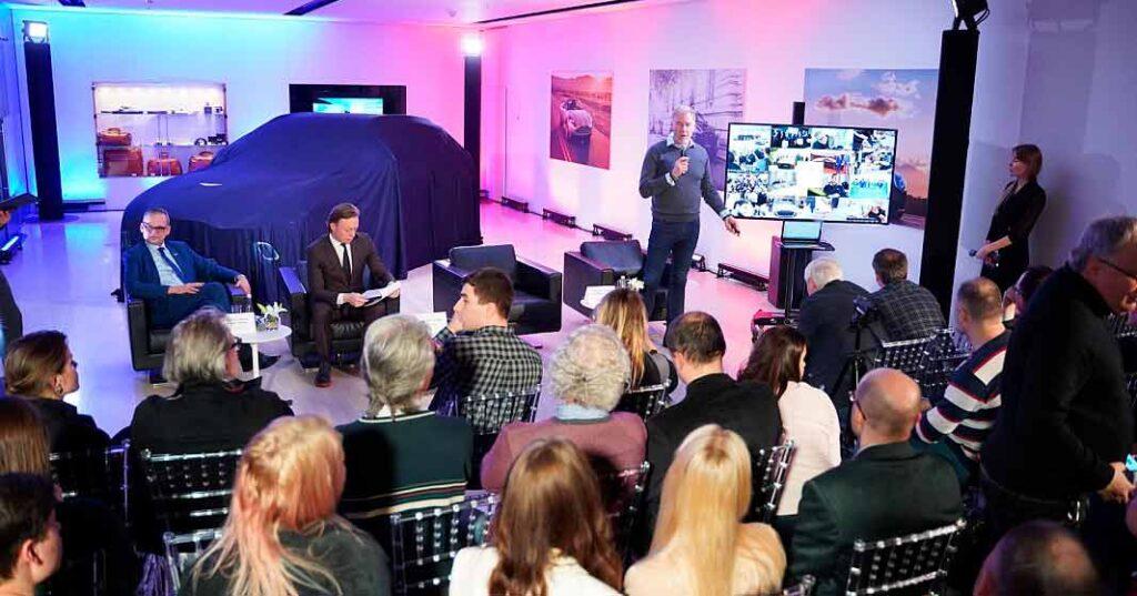Первый внедорожник сегмента люкс бренда Aston Martin – DBX официально презентован в России