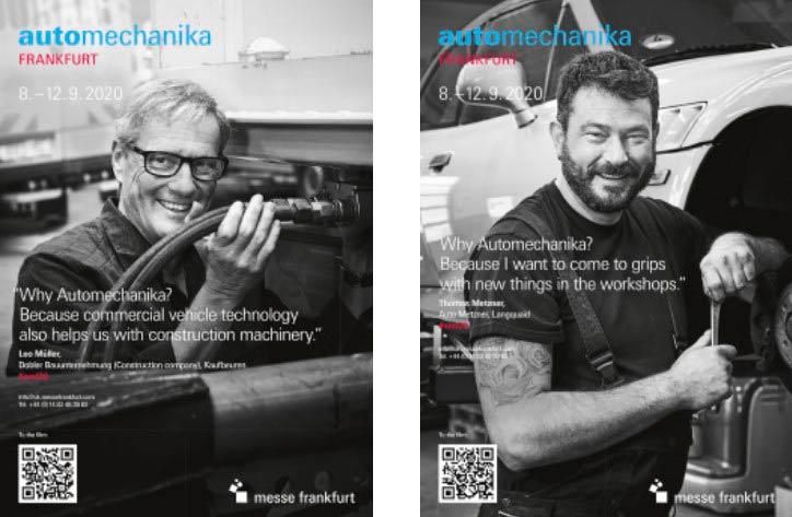 Подготовка выставки Automechanika во Франкфурте, которая состоится с 8 по 12 сентября 2020 года, идет полным ходом