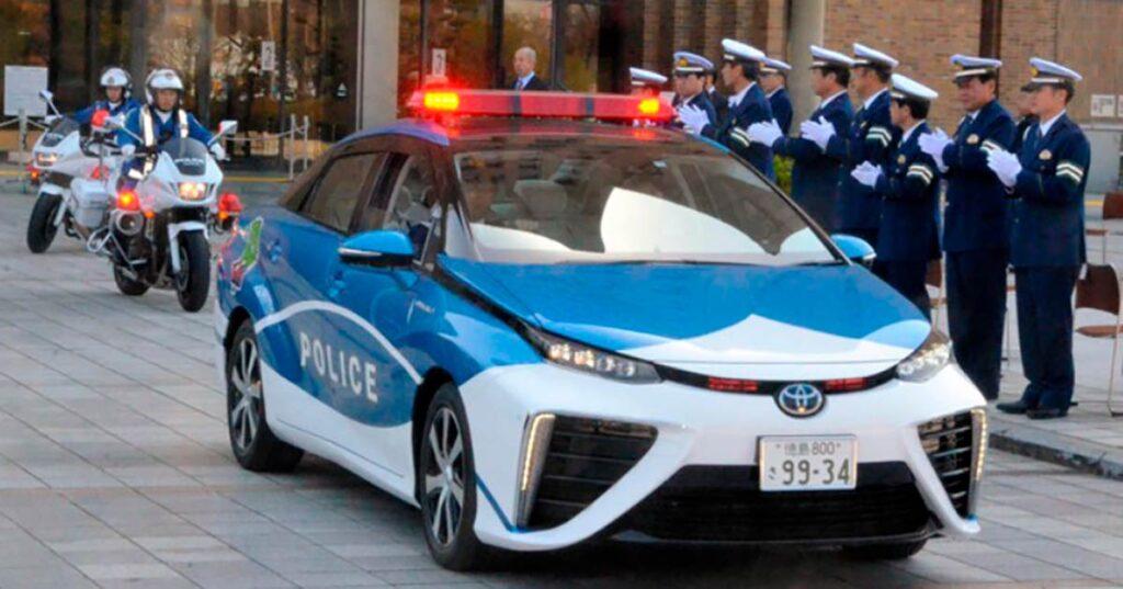 Японская полиция вооружается водородными технологиями