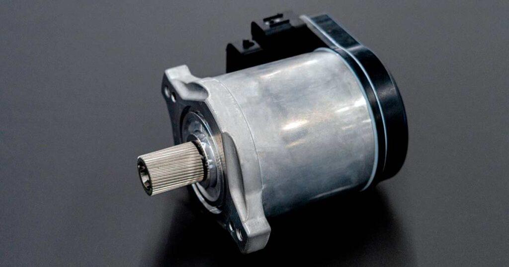Модуль активного электрического усилителя руля с блоком управления второго поколения