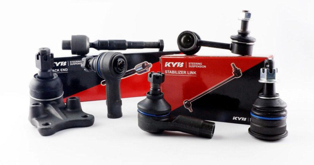 Новый ассортимент KYB: детали подвески и рулевого управления