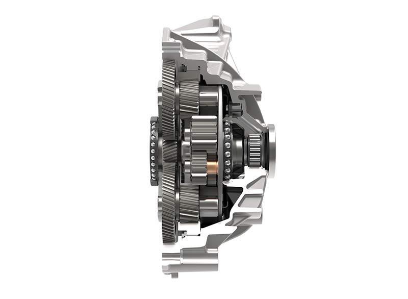 Трансмиссии осей с электрическим приводом Schaeffler отличаются очень компактной конструкцией. Фотография: Schaeffler