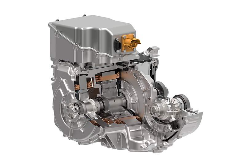 Специализированные гибридные трансмиссии Schaeffler обеспечивают номинальную мощность системы 120 кВт. Фотография: Schaeffler