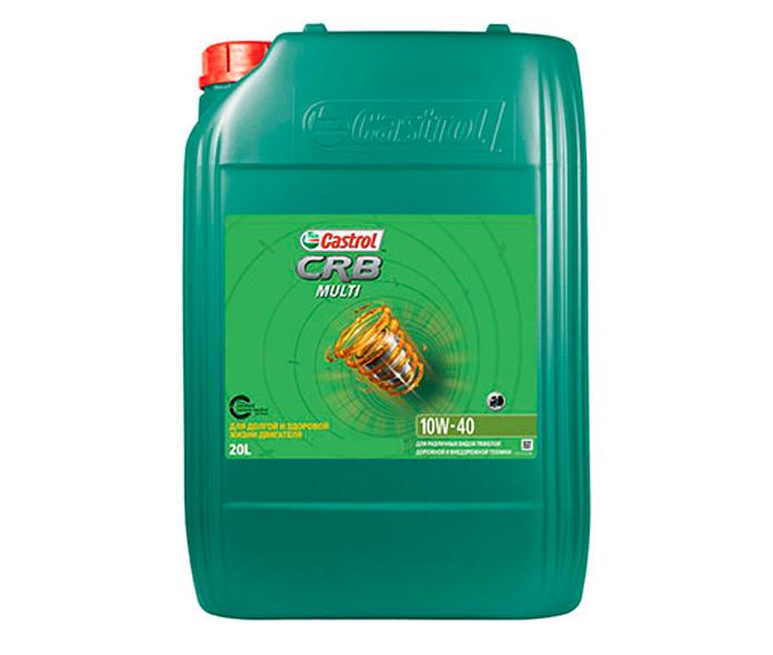 Castrol представил полусинтетическое моторное масло CRB Multi 10W-40