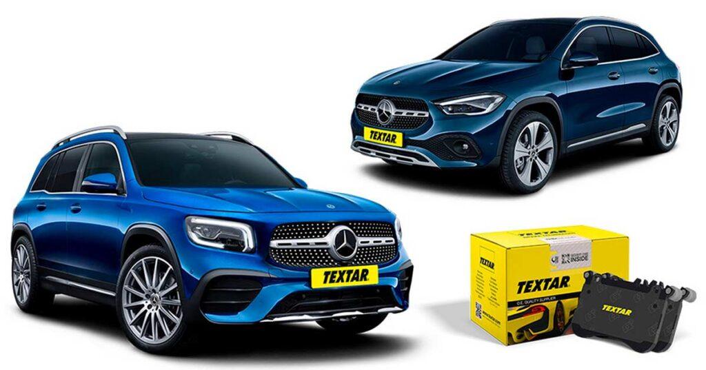 На рынок поступили тормозные колодки и диски под брендом Textar для кроссоверов Mercedes-Benz GL-класса от компании TMD Friction