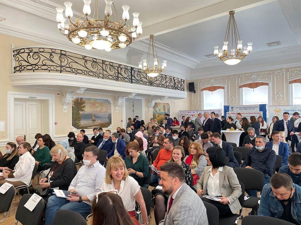 27 апреля 2021 года Союз «Торгово-промышленная палата Республики Татарстан» провел традиционный бизнес-завтрак «Интернет-торговля, как драйвер роста бизнеса»