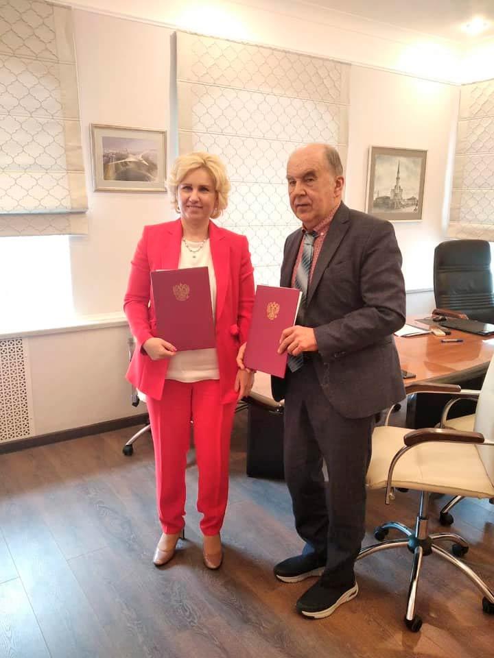 Соглашение подписали председатель «ТПП РТ» Шамиль Агеев и председатель Ассоциации «РАСТО» Ольга Селезнева