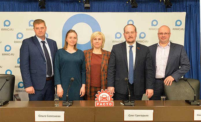 Участники конференции «Автосервисы Подмосковья: дефицит и подготовка кадров»