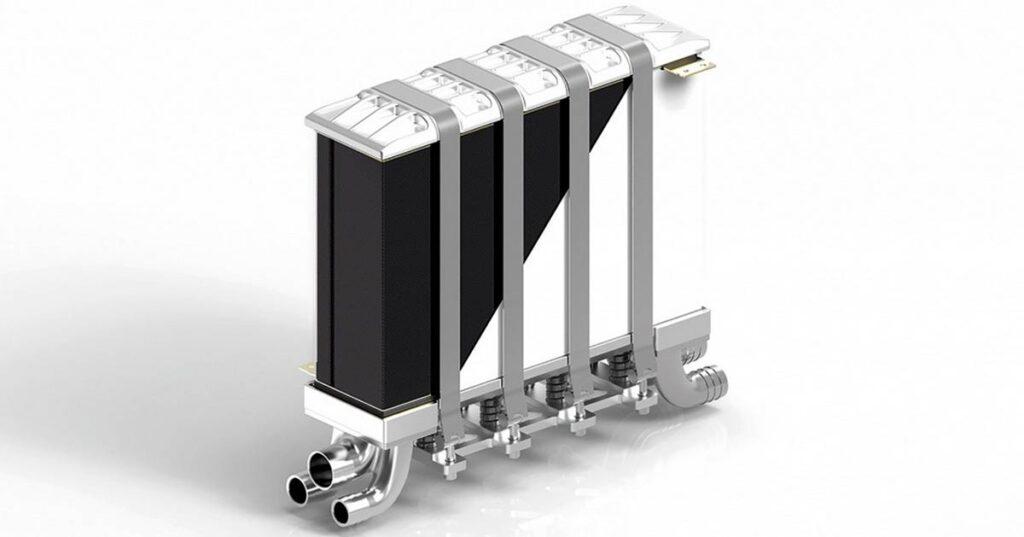 Двухполюсные металлические пластины для батарей топливных элементов