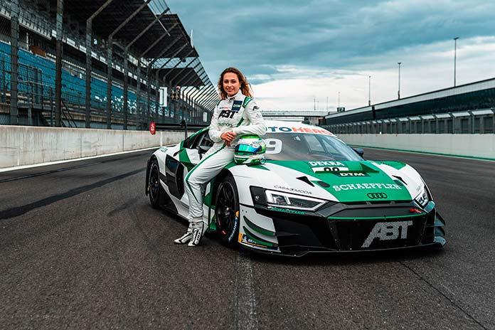 Зофия Флёрш, амбассадор бренда Schaeffler, будет бороться за очки на Audi R8 LMS GT3 с системой Space Drive.