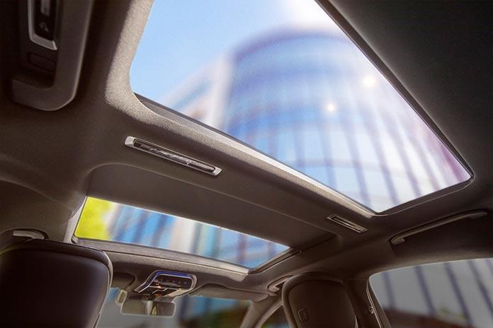 Сдвижной панорамный люк Webasto для нового Mercedes S-Class