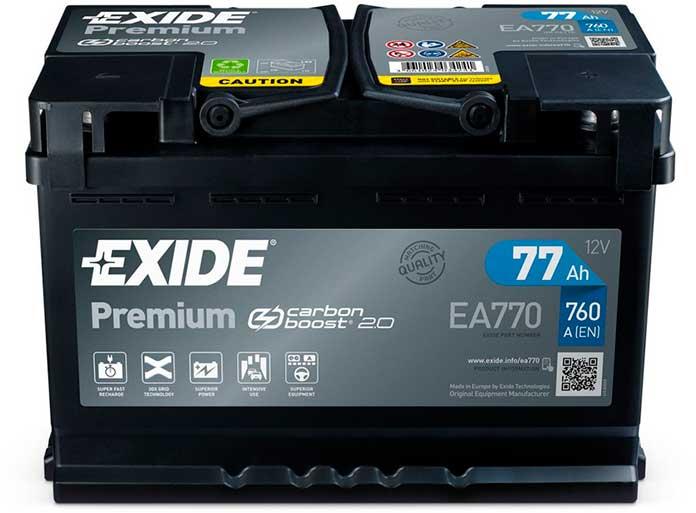Exide представляет новый дизайн аккумулятора Premium