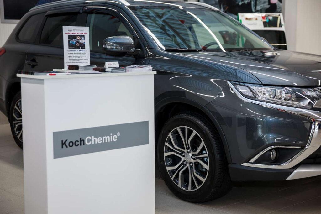 """Технический Центр """"ВОЛИН"""" при внедрении детейлинга сделал выбор в пользу компании Koch"""
