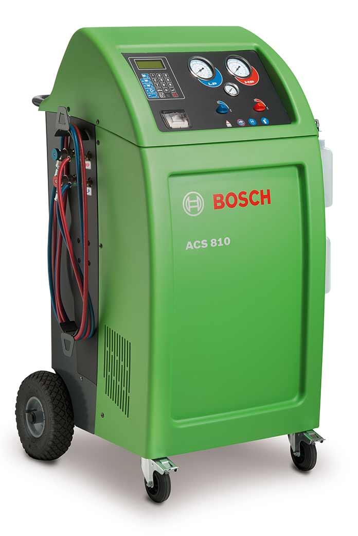 Установка дня заправки кондиционеров Bosch ACS 810