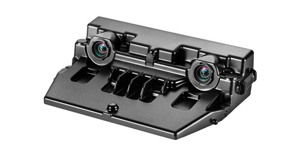 Датчик Locator Telescopic Camera выполнен по бинокулярной схеме и оснащен двумя камерами с различными рабочими характеристиками